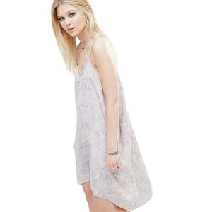 ASOS Noisy May Blue Beige Dress XS